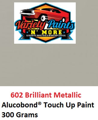 602 Brilliant Metallic Alucobond Acrylic Touch Up Paint 300 Grams