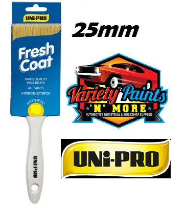 Unipro Fresh Coat Synthetic Paint Brush 25mm