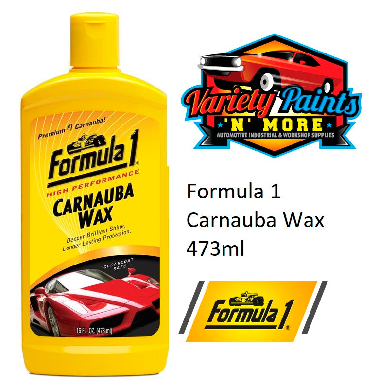 Formula 1 Carnauba Wax 473ml