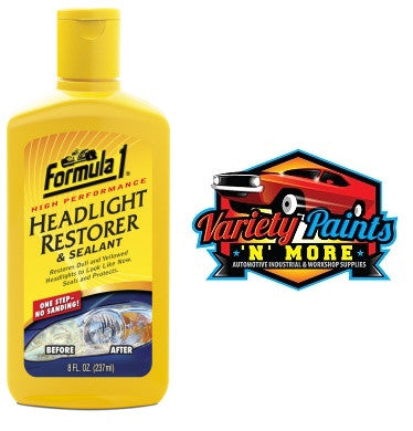 Formula 1 Headlight Restoration Polish 237ML