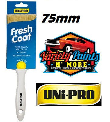 Unipro Fresh Coat Synthetic Paint Brush 75mm