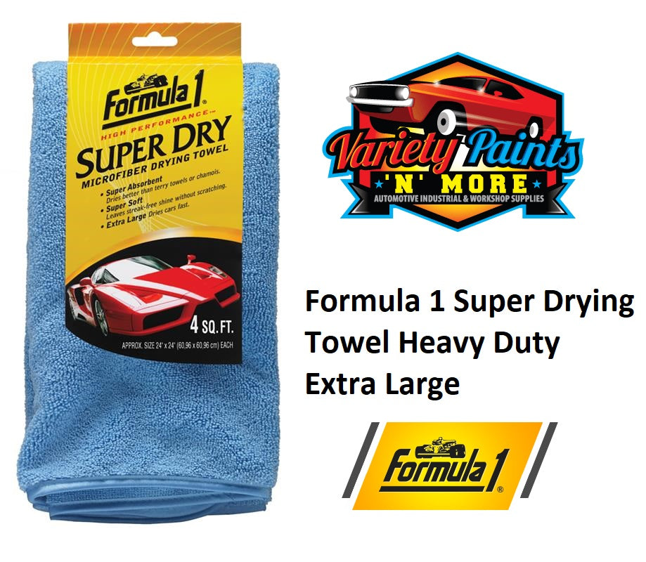 Formula 1 Super Drying Towel Heavy Duty
