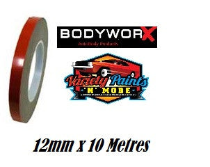 BodyworX Double Sided Tape 12mm x 10 Metres
