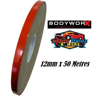 BodyworX Double Sided Tape 12mm x 50 Metres