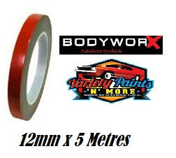 BodyworX Double Sided Tape 12mm x 5 Metres