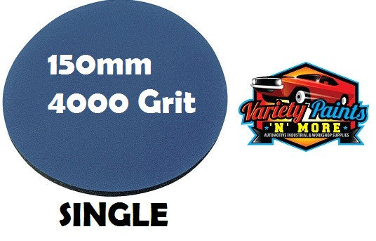 Smirdex 4000 Grit SINGLE Foam Matt Disc 150mm