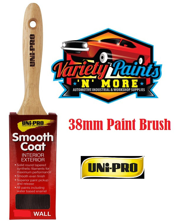 Unipro Smooth Coat Paint Brush 38mm