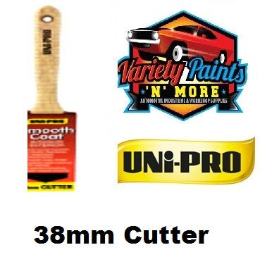 Unipro Smooth Coat Angled Cutter Paint Brush 38mm
