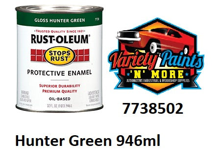 RustOLeum Stops Rust Hunter Green Gloss 946ml