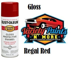 RustOLeum Stops Rust Regal Red Gloss Aerosol