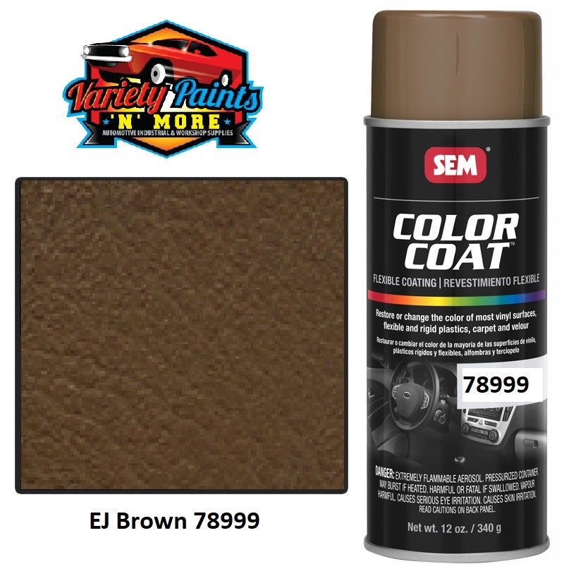 78999 EJ Holden Brown SEM Colourcoat Vinyl Aerosol