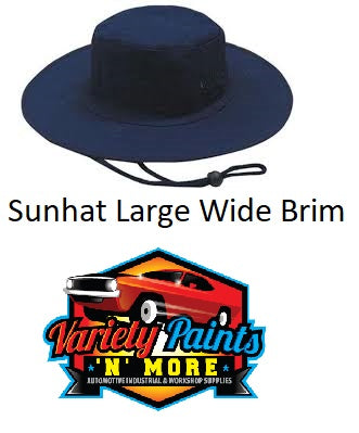 Sunhat Large Navy Blue 3791 Wide Brim