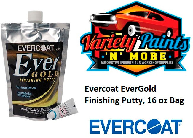 Evercoat Ever Gold Finishing Putty, 16 oz Bag