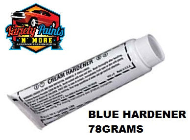 Blue Body Filler Hardener 78 gram