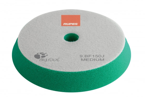 Rupes Bigfoot GREEN MEDIUM Polishing Foam Pad 130/150MM 2PK