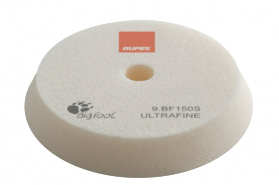 Rupes Bigfoot WHITE ULTRA FINE Polishing Foam Pad 130/150MM 2PK