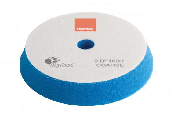 Rupes Bigfoot BLUE COARSE Polishing Foam Pad 150/180MM 2PK