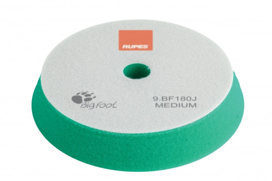 Rupes Bigfoot GREEN MEDIUM Polishing Foam Pad 150/180MM 2PK
