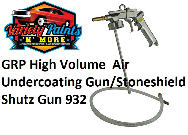GRP High Volume  Air Undercoating Gun/Stoneshield Shutz Gun 932