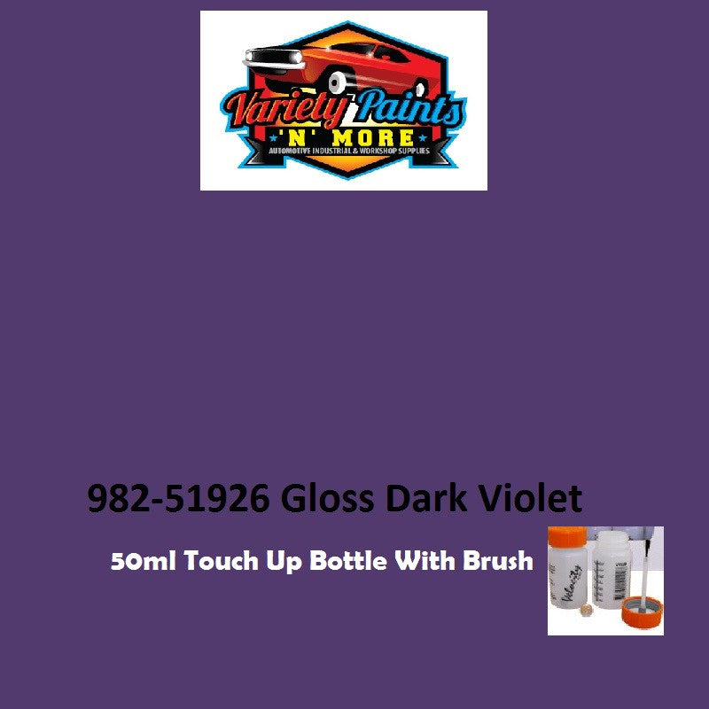 Dark Violet Powdercoat 51926  50ML Touch Up Pot with Brush