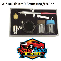 Air Brush Kit 0.3 Includes Jar and Nozzle