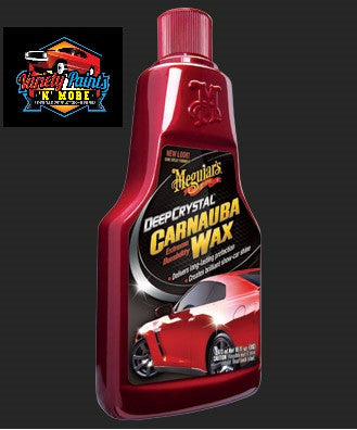Meguiars Deep Crystal Carnauba Wax 473ml