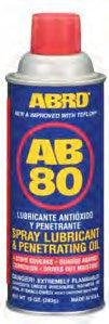 Abro Spray Lube with Teflon 283g