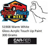 S1908 Warm White Gloss Acrylic Touch Up Paint 300 Grams