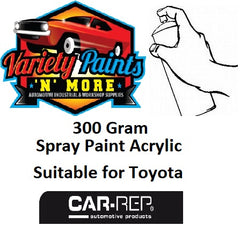 033 Acrylic Suitable for Toyota Super White  Touch Up Paint 300 Grams