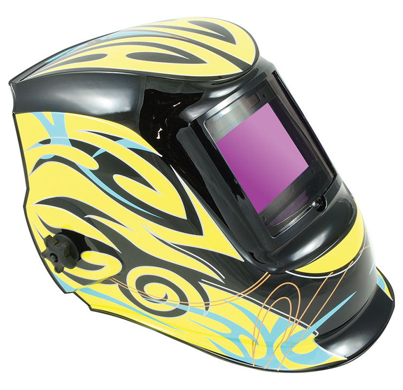 Auto Darkening Welding Helmet - Tribal