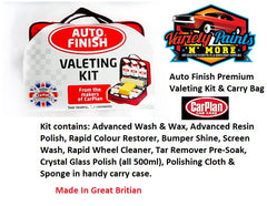 Carplan Auto Finish Premium Valeting Kit & Carry Bag