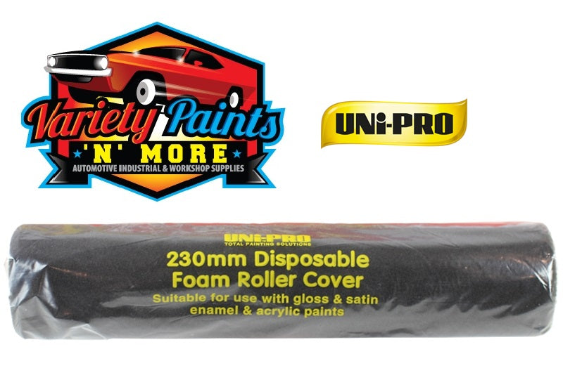 Unipro Disposable Foam Roller Sleeve 230mm 5mm Nap Single