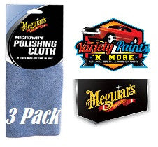 Meguiars Microwipe Polishing Cloth 3 Pack