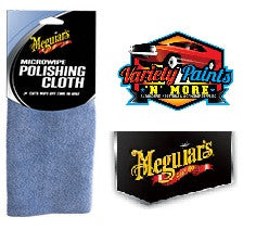 Meguiars Microwipe Polishing Cloth (Blue) 40cm x 40cm SINGLE