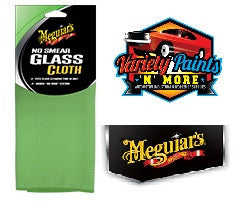 Meguiars No Smear Glass Cloth (GREEN) 40CM X 40CM