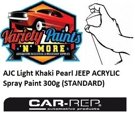 AJC Light Khaki Pearl JEEP ACRYLIC Spray Paint 300g