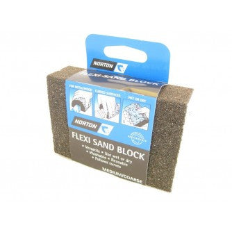 Norton Flexisand Sanding Block Medium/Coarse