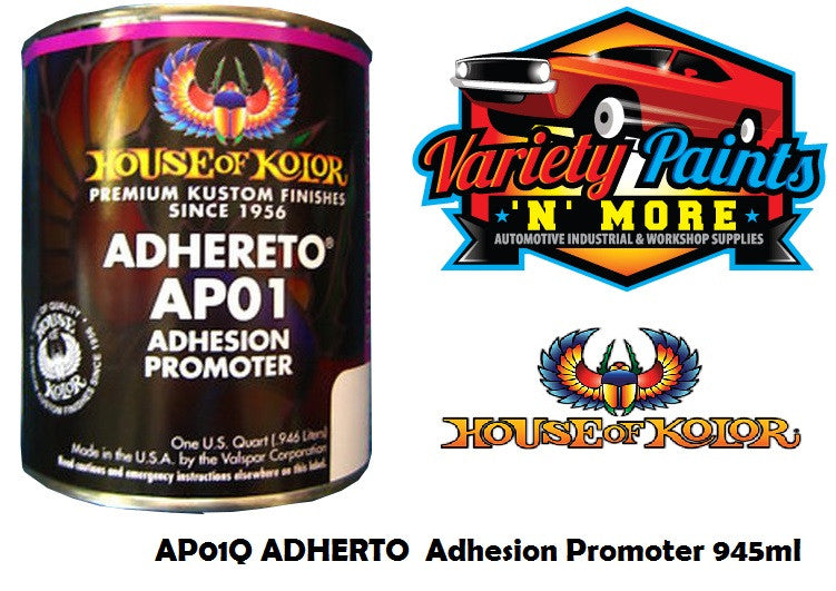 Adhereto Adhesion Promoter House of Kolor - For Metal & Plastics 946ml