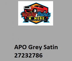 APO Grey 2K 32786 Colorbond Aerosol Paint 300 Grams