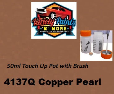 Variety Paints Precious® Copper Pearl 4137Q/96605 Powdercoat 50ml Touch Up Pot