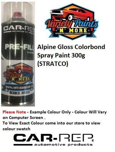 Alpine Gloss Colorbond Spray Paint 300g (STRATCO)