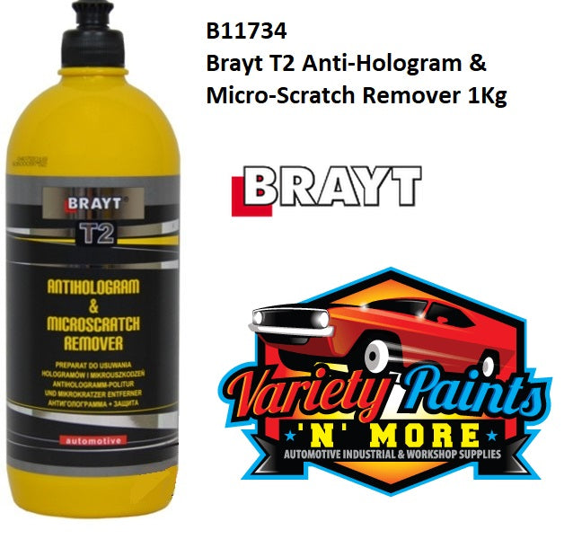 Brayt T2 Anti-Hologram & Micro-Scratch Remover 1Kg