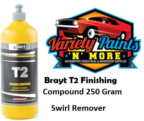 Brayt T2 Finishing Compound 250gm Swirl Remover
