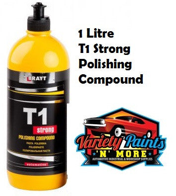 Brayt T1 Strong Polishing Compound 1 Litre