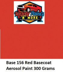 Base 156 Red Basecoat Aerosol Paint 300 Grams