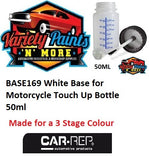 BASE169 White Base for Motorcycle Touch Up Bottle 50ml