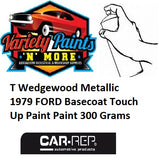 T Wedgewood Metallic 1979 FORD Basecoat Touch Up Paint Paint 300 Grams