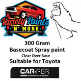 1E3 Gray Mica Metallic Suitable for Toyota Basecoat Spray Paint 300 Gram