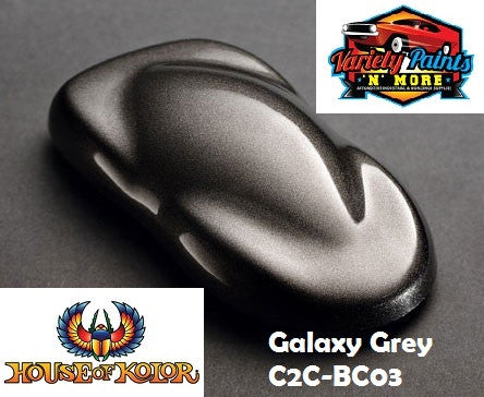 Galaxy Grey S2-03 Glamour Metallic Basecoat House of Kolor 945ml