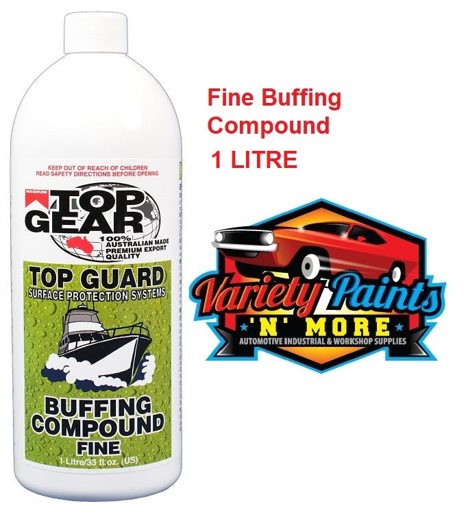 Top Gear Buffing Compound Fine 1 Litre